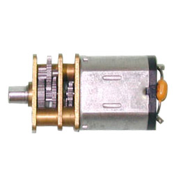 dc brush gear motors