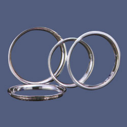 delux plastic steel chrome wheel covers