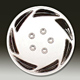 Delux Plastic Wheel Cover House