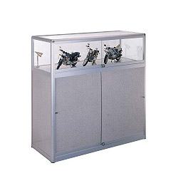deluxe aluminum shop fitting display
