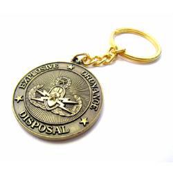 die struck key chain