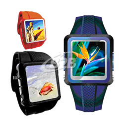 "1.5"" digital picture frames with watch"