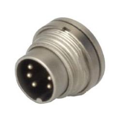 din connector metal water proof plug sensor