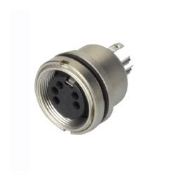 din connector metal water proof socket sensor
