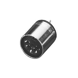 din connector molded socket soldes types
