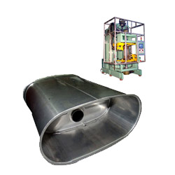 car muffler vertical double capping machines