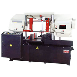 double column horizontal automatic band saw