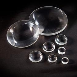 double-convex lens