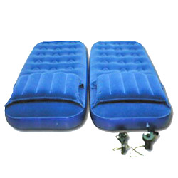 double flocked air bed pump