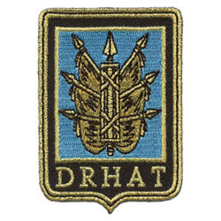 drhat embroidered patches