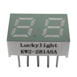"""0.28"""" dual digit numeric displays"""