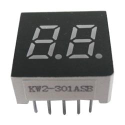 """0.30"""" dual digit numeric displays"""
