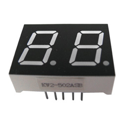 "0.50"" dual digit numeric displays"
