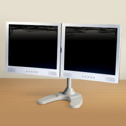 dual lcd stands