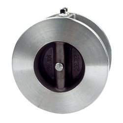 dual plate wafer style check valve