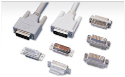 dvi connector cables