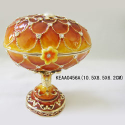 egg jewelry box
