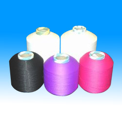 elastic covered yarn