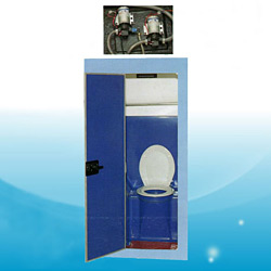 electric frp lavatory