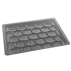 electronic shallow tray
