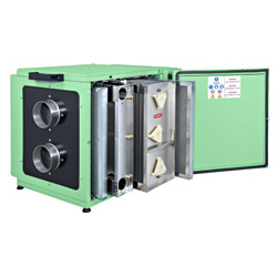 electrostatic air cleaner ( spring making equipments )