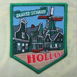 embroidered badge