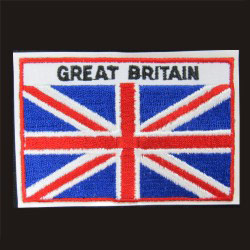 embroidered britain flag