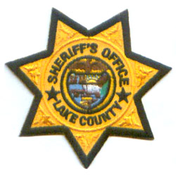 Embroidered Emblems (Police Sheriff)