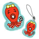 embroidered emblems octopus cell phone strip