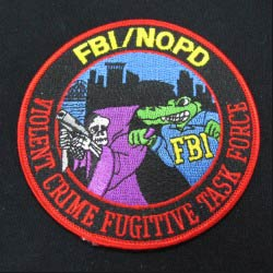 embroidered fbi emblem