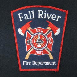 embroidered fire cloth patch