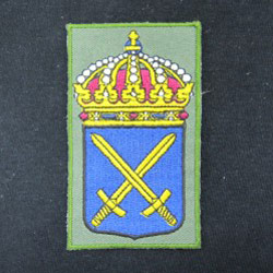 embroidered iron patch