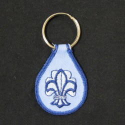 embroidered keychain