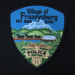embroidered ohio police patch