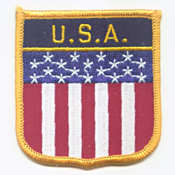 Embroidered Patches (Country Shield)