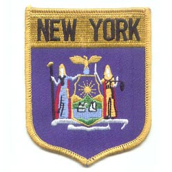 Embroidered Patches (American State Shield)