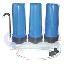 european three cartridge water purifier