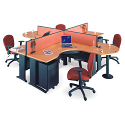 fabric desk partitions