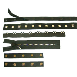 fastener and hook tapes