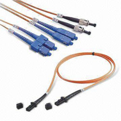 fiber optical patch leads and connectors