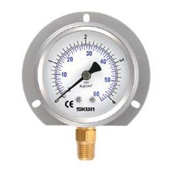 filled bourdon tube pressure gauges
