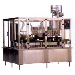filling and rotary capping combined machine