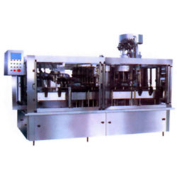 filling and rotary capping combined machines