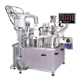 automatic liquid filling, plugging and capping machine