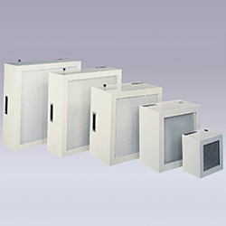 small size high efficiency filter units