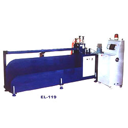 finger-tip control panel take-up cutter, cutter, machine.