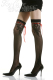 (Toylace)  Fishnet Stockings Back With Satin Bow-8032