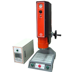 fixed position spin welding machine