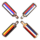 Flag Zipper Pulls-13