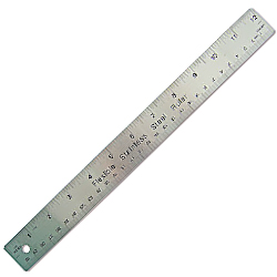 flexible stainless steel cork ruler